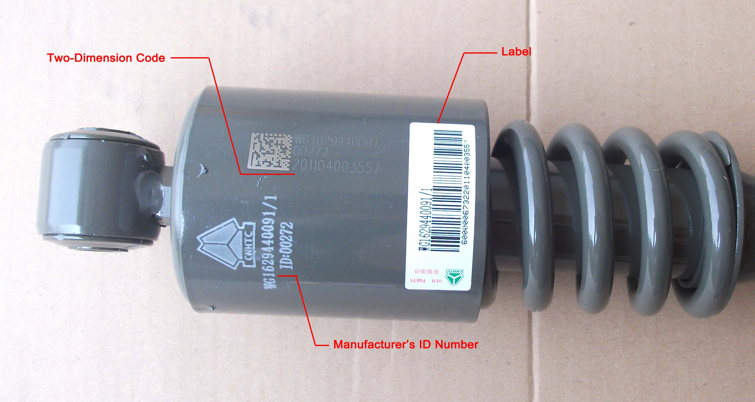 Seven Ways to Help You Identify SINOTRUK Genuine Parts from the FAKES.