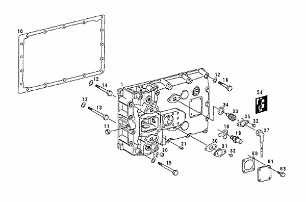 ZF5S-150GP (2159003019) Catalog, Transmission cover, QIJIANG Gearbox
