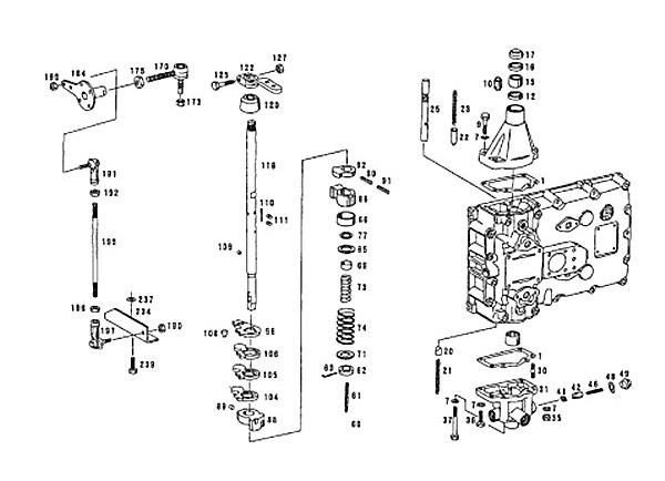 ZF5S-150GP (2159003019) Catalog, Shifting mechanism, QIJIANG Gearbox