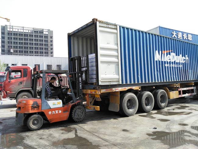 Two 40HQs of FAW Truck Parts Loaded This Week.
