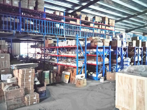 Experienced Stock Management  --sinotruk parts warehosue