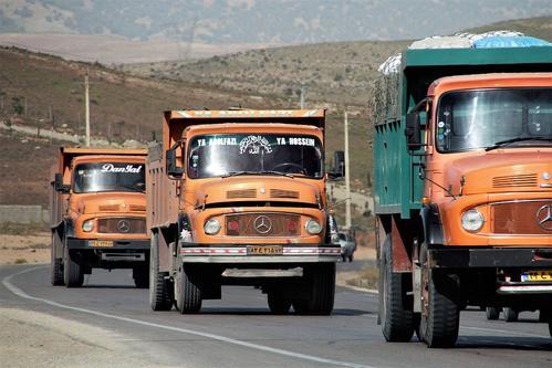 Iran truck