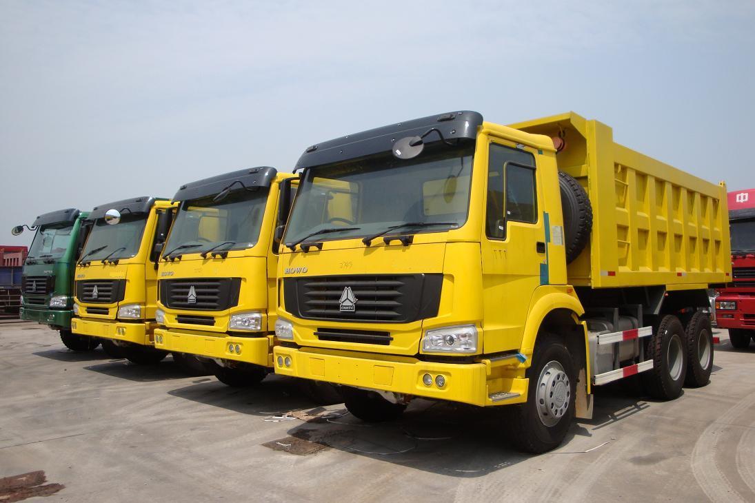 sinotruk howo 371 dump truck 6x4