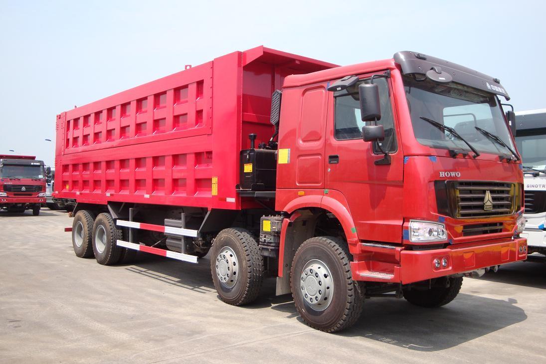 sinotruk howo 371 engine dump truck 8x4